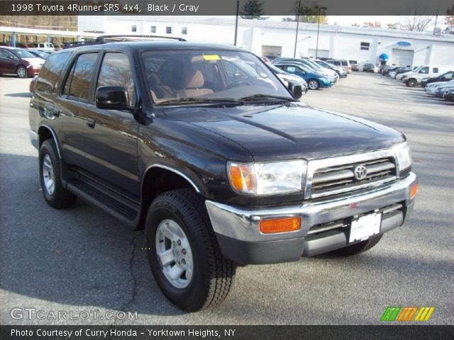 Black 1998 Toyota 4runner Sr5 4x4 Gray Interior Vehicle Archive 39388306