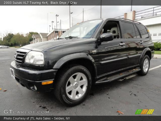 black onyx 2003 suzuki xl7 touring 4x4 gray interior gtcarlot com vehicle archive 39388315 gtcarlot com