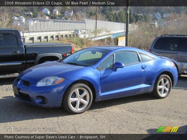 2006 mitsubishi eclipse gs coupe in uv blue pearl