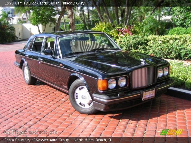 Bentley Brooklands Black. Black 1995 Bentley Brooklands