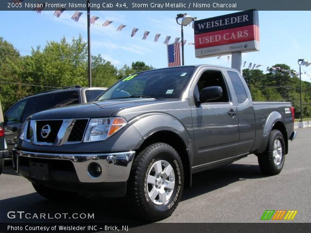 storm gray metallic 2005 nissan frontier nismo king cab. Black Bedroom Furniture Sets. Home Design Ideas