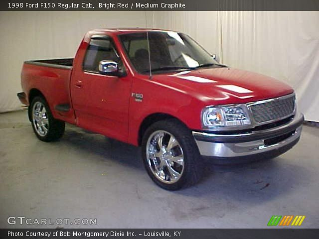 1998 Ford F150 Regular Cab in Bright Red