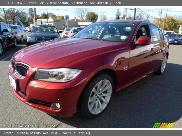 2011 BMW 3 Series 328i xDrive Sedan in Vermillion Red Metallic