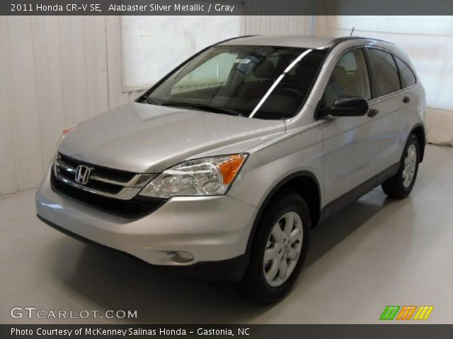 Alabaster Silver Metallic 2011 Honda Cr V Se Gray