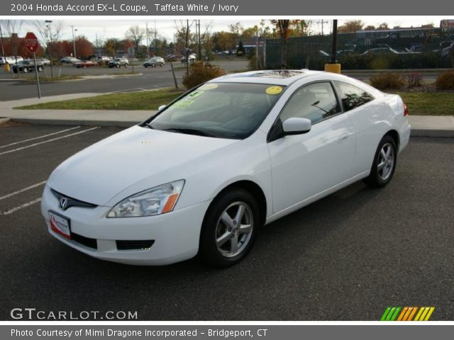 2004 honda accord ex l coupe in taffeta white click to see large. Black Bedroom Furniture Sets. Home Design Ideas