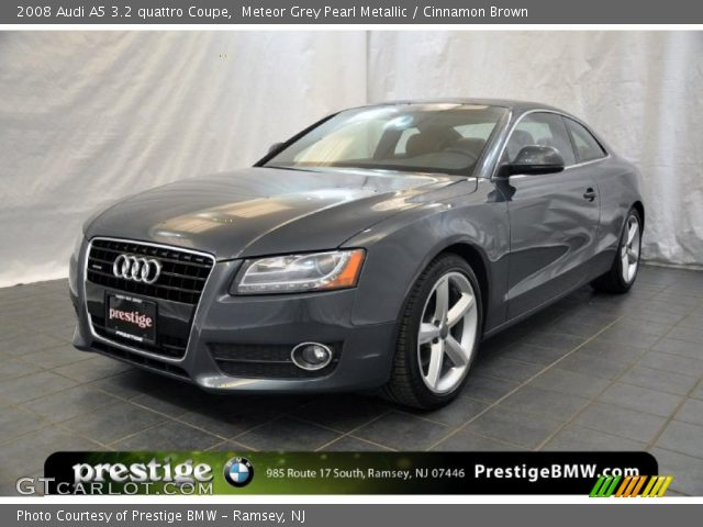 meteor grey pearl metallic 2008 audi a5 3 2 quattro. Black Bedroom Furniture Sets. Home Design Ideas