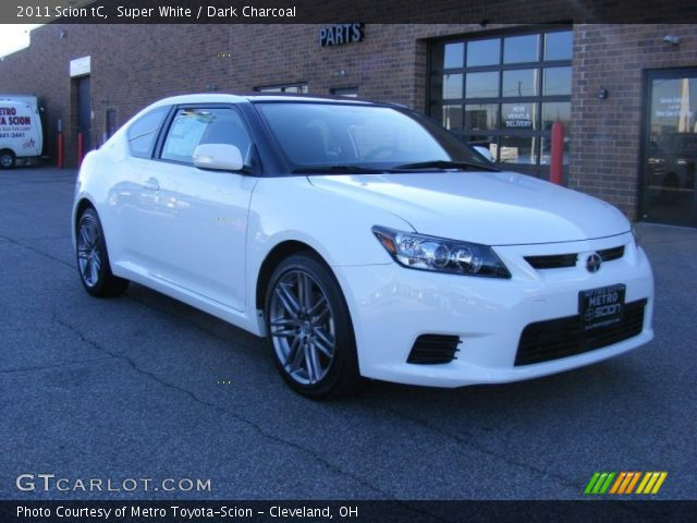 2011 Scion tC  in Super White