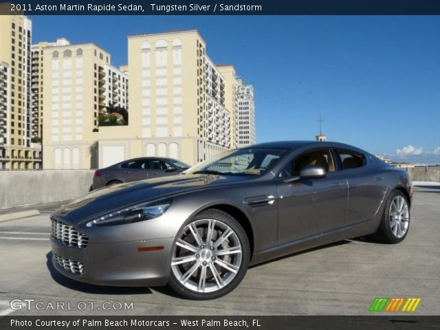 2011 Aston Martin Rapide Sedan in Tungsten Silver