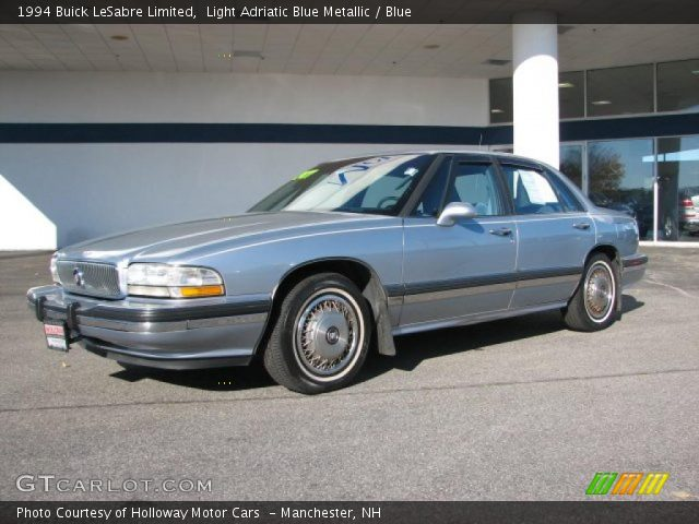 1994 Buick LeSabre Limited in Light Adriatic Blue Metallic