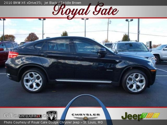 2010 BMW X6 xDrive35i in Jet Black