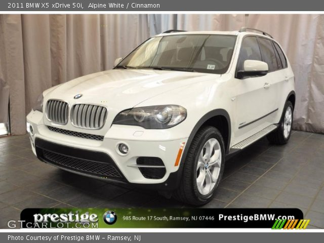 alpine white 2011 bmw x5 xdrive 50i cinnamon interior. Black Bedroom Furniture Sets. Home Design Ideas