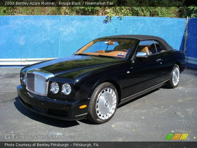 2009 Bentley Azure Mulliner in Beluga Black