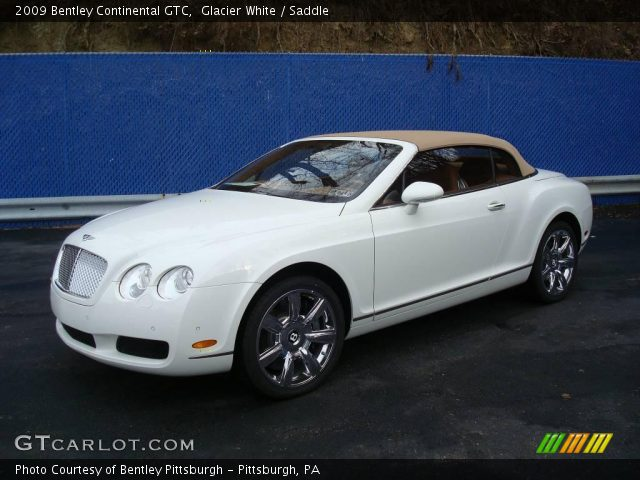 2009 Bentley Continental GTC  in Glacier White