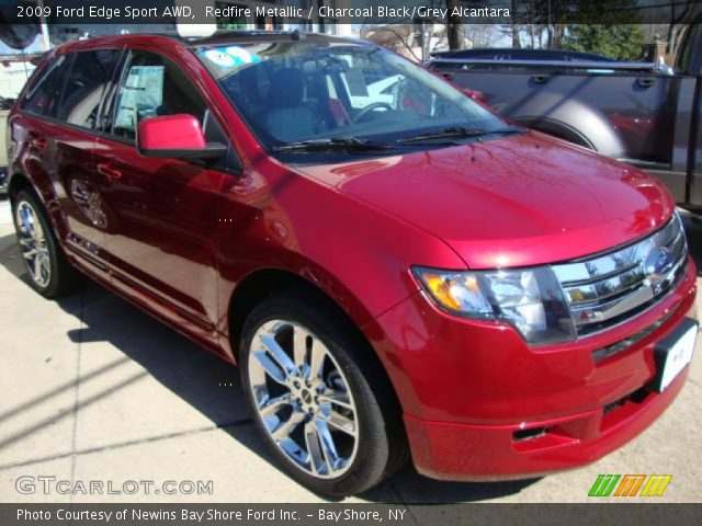 2009 Ford Edge Sport AWD in Redfire Metallic