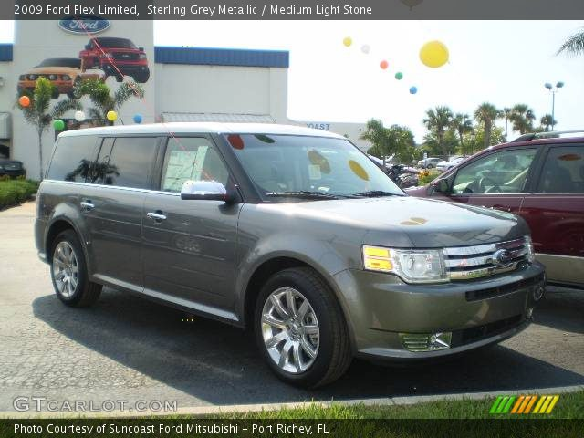 sterling grey metallic 2009 ford flex limited medium. Black Bedroom Furniture Sets. Home Design Ideas