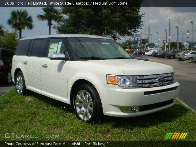 white suede clearcoat 2009 ford flex limited medium. Black Bedroom Furniture Sets. Home Design Ideas