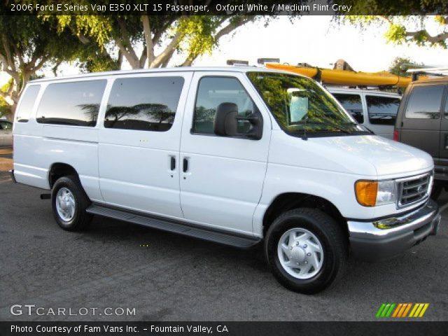 White Passenger Van Oxford White - ...