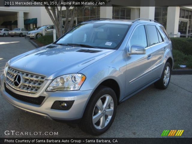 2011 Mercedes-Benz ML 350 in Alpine Rain Metallic