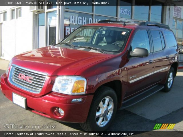 red jewel metallic 2006 gmc envoy xl slt 4x4 ebony. Black Bedroom Furniture Sets. Home Design Ideas
