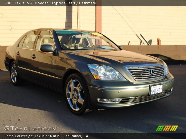 cypress pearl 2005 lexus ls 430 sedan cashmere. Black Bedroom Furniture Sets. Home Design Ideas