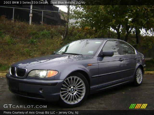 steel blue metallic 2003 bmw 3 series 330i sedan grey interior vehicle. Black Bedroom Furniture Sets. Home Design Ideas