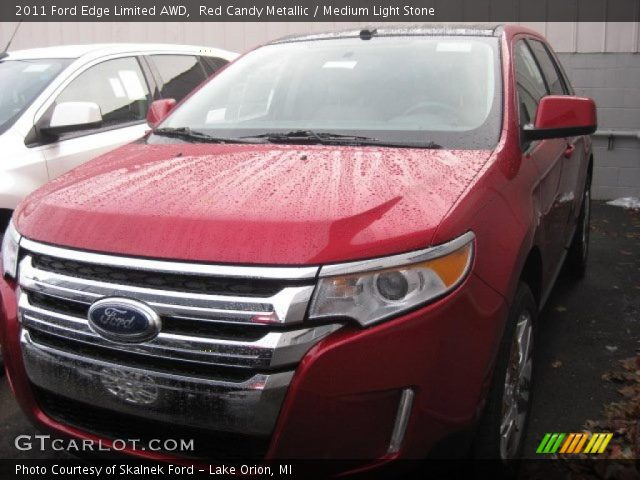 red candy metallic 2011 ford edge limited awd medium. Black Bedroom Furniture Sets. Home Design Ideas