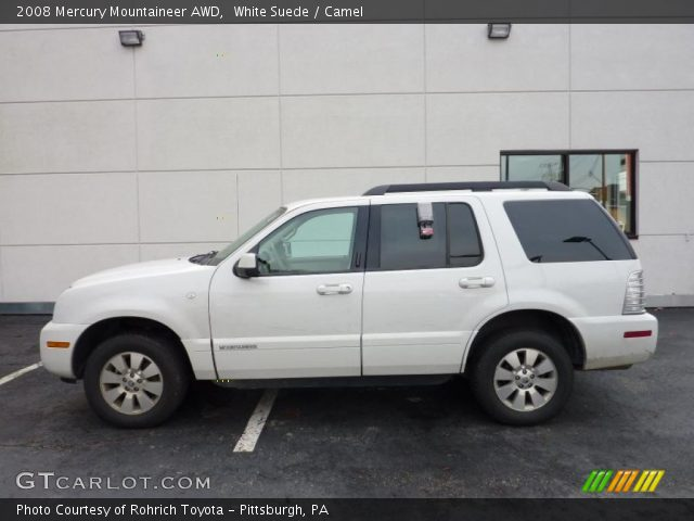 2008 Mercury Mountaineer AWD in White Suede