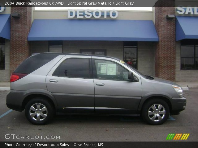 2004 Buick Rendezvous CX AWD in Light Spiral Gray Metallic