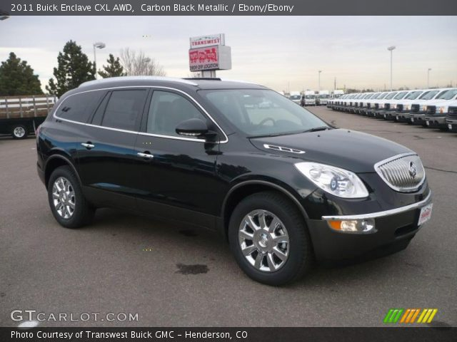 2011 Buick Enclave Black 200 Interior And Exterior Images