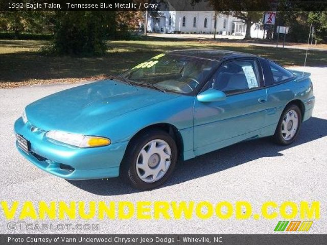 1992 Eagle Talon  in Tennessee Blue Metallic