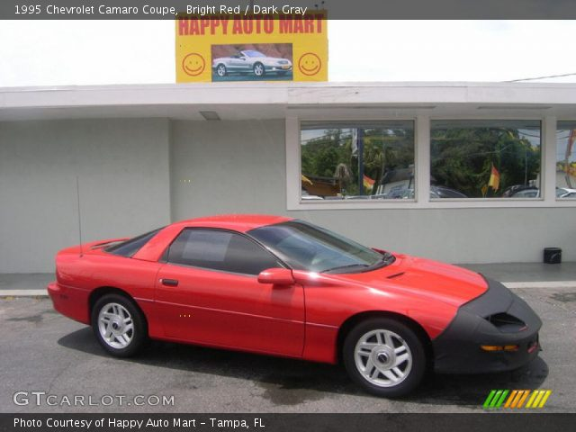 bright red 1995 chevrolet camaro coupe dark gray. Black Bedroom Furniture Sets. Home Design Ideas