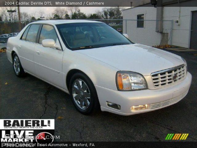 White Diamond 2004 Cadillac Deville Dts Cashmere Interior Vehicle Archive