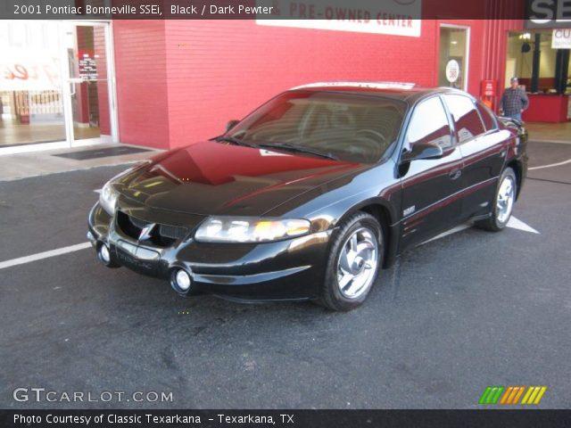 Pontiac Bonneville 2001. Black 2001 Pontiac Bonneville