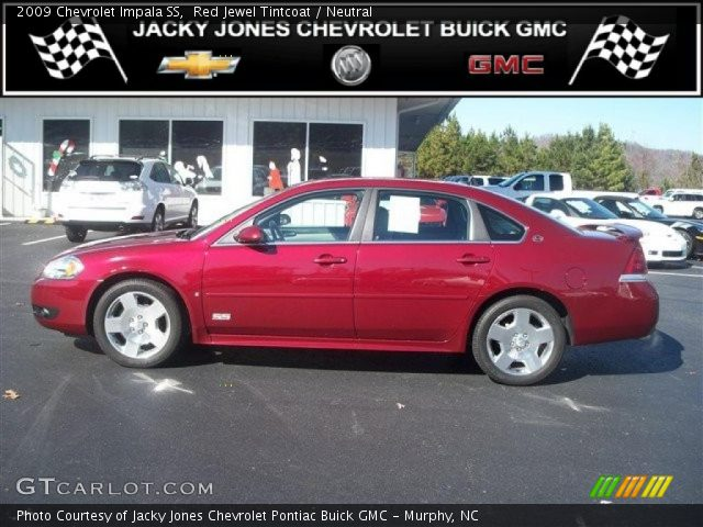 red jewel tintcoat 2009 chevrolet impala ss neutral. Black Bedroom Furniture Sets. Home Design Ideas