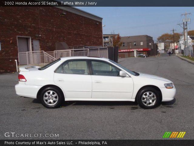 Honda Accord Sedan 2002 2002 Honda Accord se Sedan in