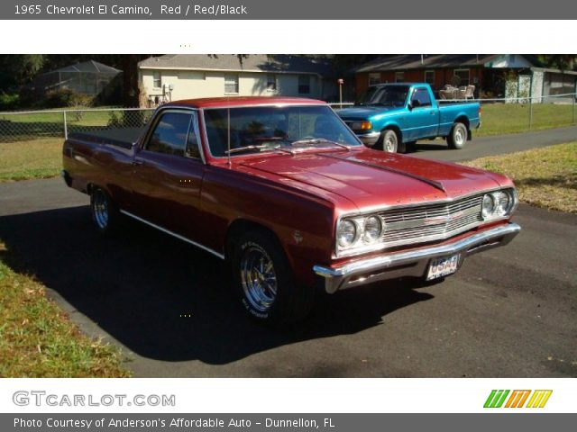 1965 Chevrolet El Camino  in Red