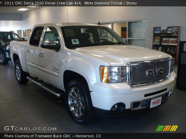 2011 GMC Sierra 1500 Denali Crew Cab 4x4 in White Diamond Tricoat