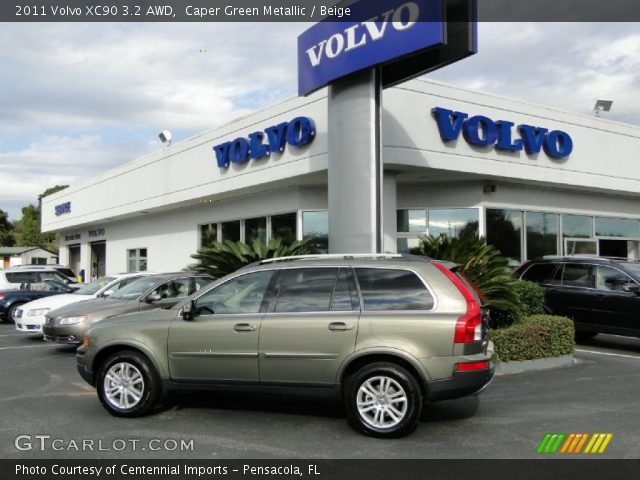 2011 Volvo XC90 3.2 AWD in Caper Green Metallic