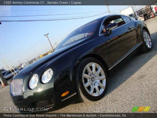 2005 Bentley Continental GT  in Barnato Green