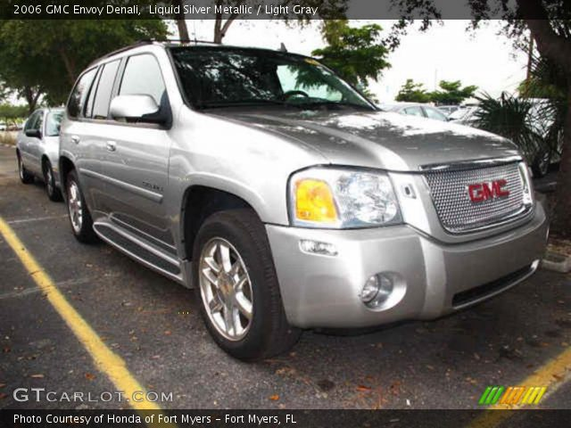 Liquid Silver Metallic 2006 GMC Envoy Denali with Light Gray interior 2006 GMC Envoy Denali in Liquid Silver Metallic