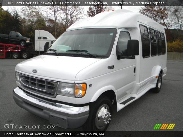 Oxford white 2002 ford e series cutaway e350 commercial - Commercial van interior accessories ...