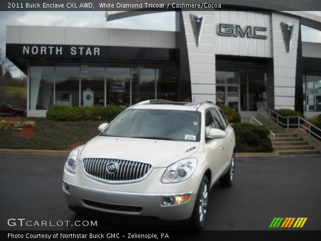 2011 Buick Enclave CXL AWD in White Diamond Tricoat