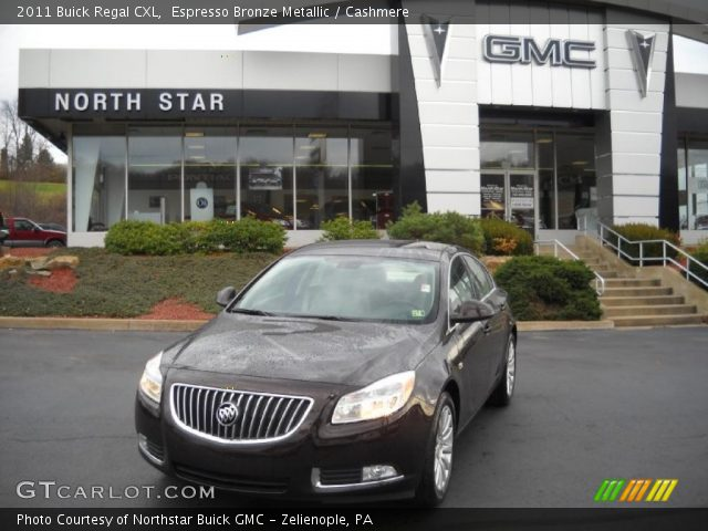 2011 Buick Regal CXL in Espresso Bronze Metallic
