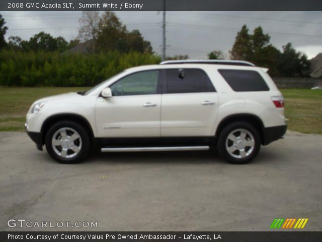 2008 GMC Acadia SLT in Summit White