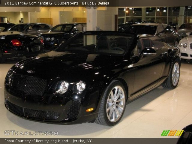 2011 Bentley Continental GTC Supersports in Beluga