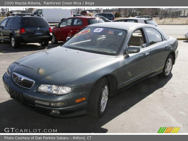 2000 Mazda Millenia in Rainforest Green Mica. Click to see large photo ...