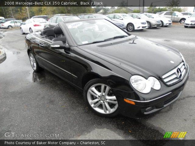 Black 2008 mercedes benz clk 350 cabriolet black for 2008 mercedes benz clk 350