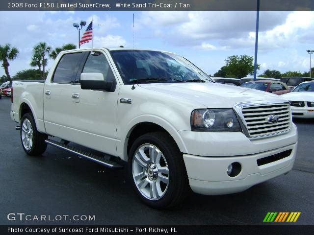 2008 Ford F150 Limited SuperCrew in White Sand Tri-Coat
