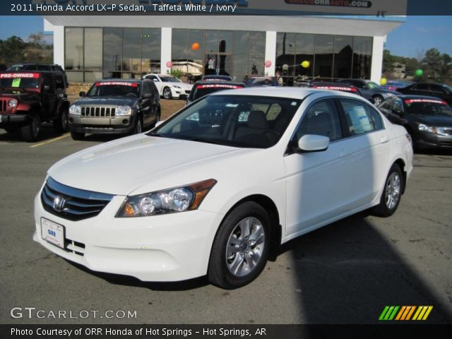 Taffeta White 2011 Honda Accord Lx P Sedan Ivory