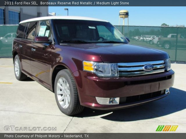 bordeaux reserve red metallic 2011 ford flex sel. Black Bedroom Furniture Sets. Home Design Ideas